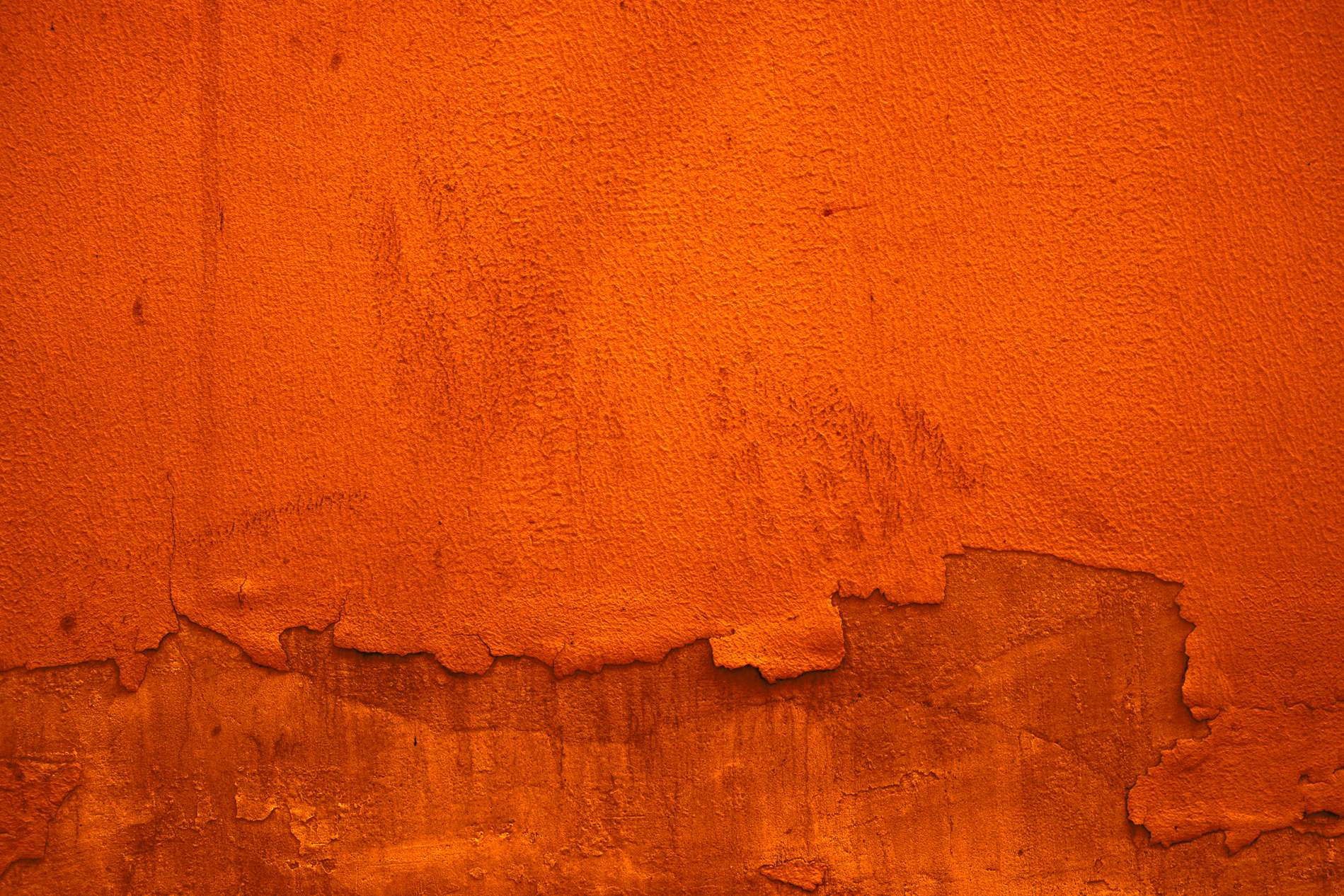 Orange Withered Paint Wall Texture Background Photohdx