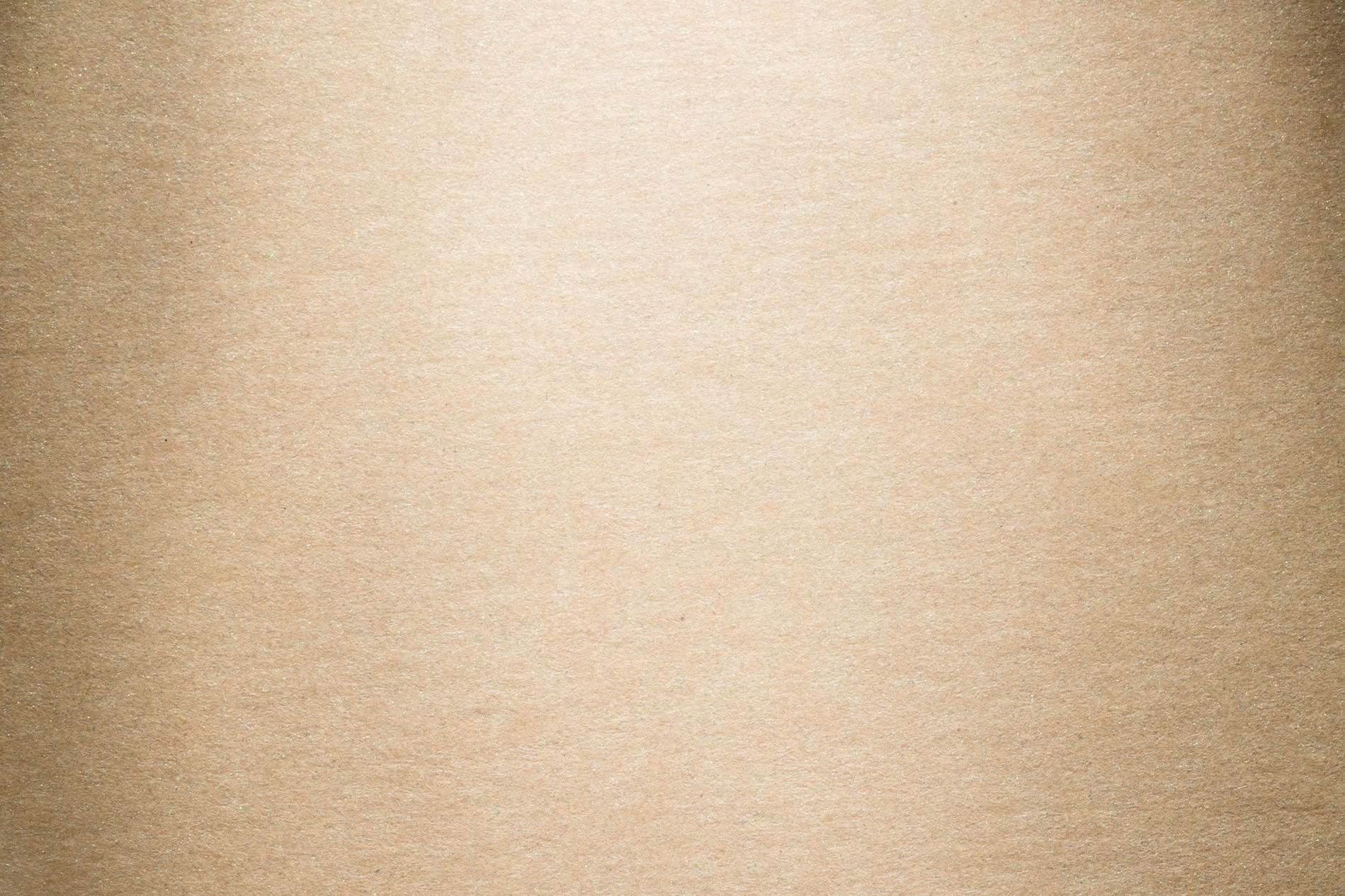 Clean Vintage Yellow Brown Paper Texture Background