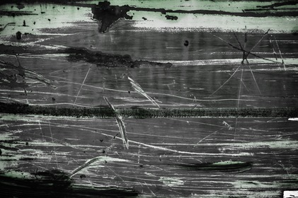 Dark Grungy Gray Scratched Texture