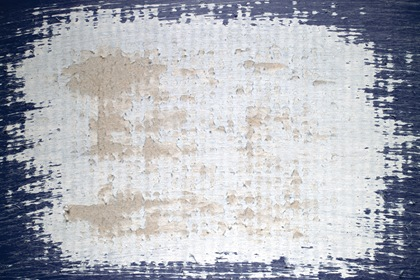 Grungy Blue Scratched Cardboard