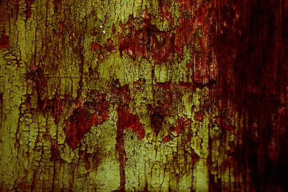 Grungy Red Green Horror Halloween Background