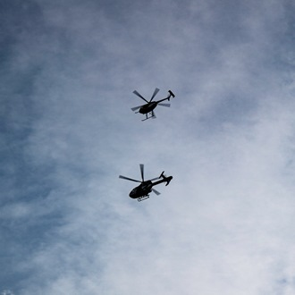 Helicopters Silhuette