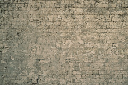 Old Light Gray Rock Wall Texture Background
