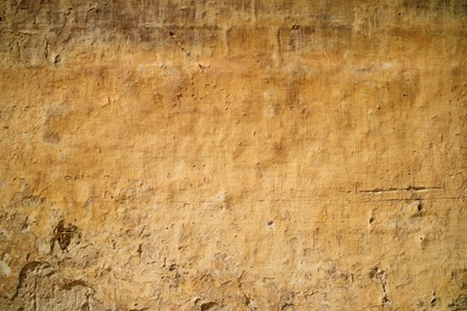 Old Yellow Wall Texture Background