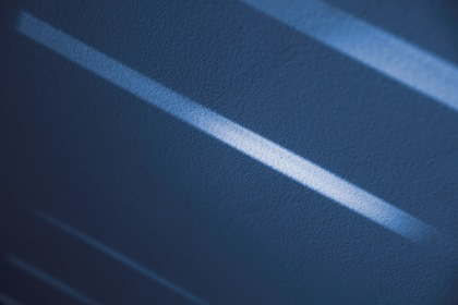 Blue Abstract Background With Diagonal Lights