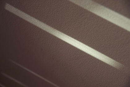 Brown Wall With Light Streaks
