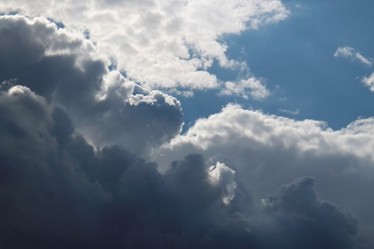 Dramatic Sky Clouds Background