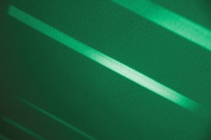 Green Abstract Background With Diagonal Lines