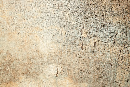 Grunge Old Yellow Scratched Wall Texture