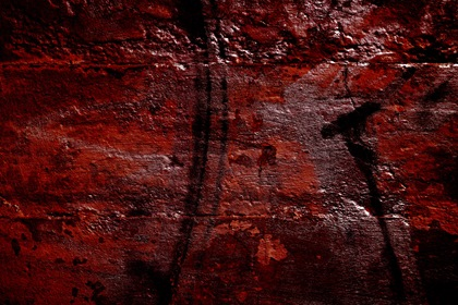 Red Grungy Horror Halloween Wall Texture