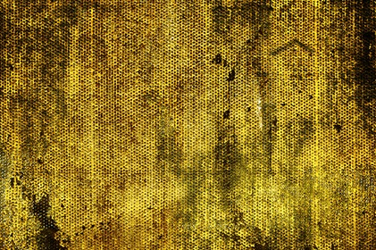 Yellow Mesh Grungy Background